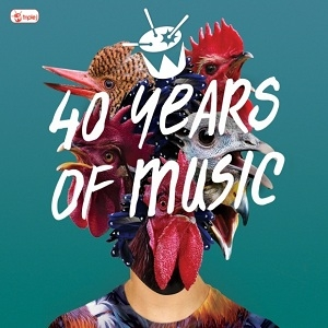 Various Artists 40 Years Of Music 4cd